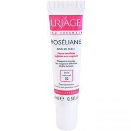 Uriage Roséliane színezett fluid Érzékeny, bőrpírra hajlamos bőrre árnyalat 02 Doré Naturel  15 ml