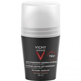 Vichy Homme Deodorant golyós dezodor roll-on az erőteljes izzadás ellen 72h  50 ml