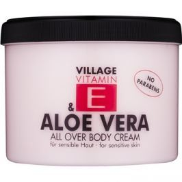 Village Vitamin E Aloe Vera testápoló krém  500 ml