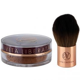 Vita Liberata Trystal Minerals bronzosító púder ecsettel 02 Bronze 2 db