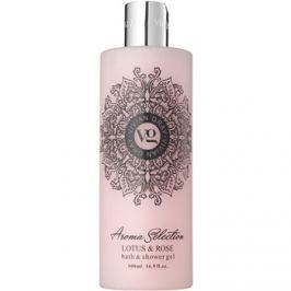 Vivian Gray Aroma Selection Lotus & Rose tusoló- és fürdőgél  500 ml
