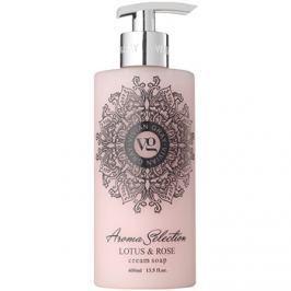 Vivian Gray Aroma Selection Lotus & Rose krémes folyékony szappan  400 ml