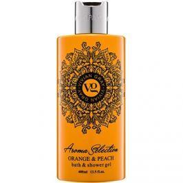Vivian Gray Aroma Selection Orange & Peach tusoló- és fürdőgél  400 ml