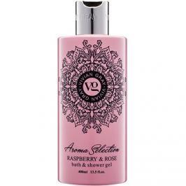 Vivian Gray Aroma Selection Raspberry & Rose tusoló- és fürdőgél  400 ml