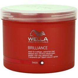 Wella Professionals Brilliance maszk a vastagszálú, festett hajra  500 ml