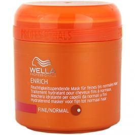 Wella Professionals Enrich maszk finom és lesimuló hajra  150 ml