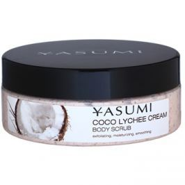 Yasumi Body Care Coco Lychee Cream bőrpuhító testpeeling  200 g