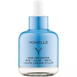 Yonelle H2O Infusion folyékony krém gyors ráncellenes hatással a szemkörnyékre,arcra és nyakra  50 ml