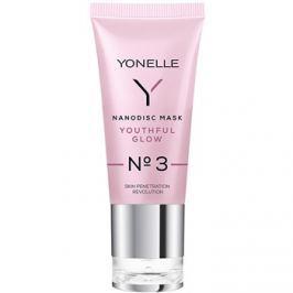 Yonelle Nanodisc Mask Youthful Glow N° 3 intenzív arcbőr pezsdítő géles maszk 40+  35 ml