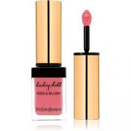 Yves Saint Laurent Baby Doll Kiss & Blush rúzs és arcpirosító egyben árnyalat 8 Pink Hédoniste  10 ml