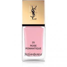 Yves Saint Laurent La Laque Couture körömlakk árnyalat 25 Rose Romantique 10 ml