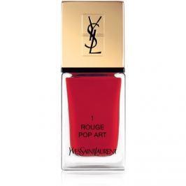 Yves Saint Laurent La Laque Couture körömlakk árnyalat 01 Rouge Pop Art 10 ml