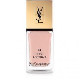 Yves Saint Laurent La Laque Couture körömlakk árnyalat 24 Rose Abstrait 10 ml