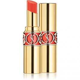 Yves Saint Laurent Rouge Volupté Shine Oil-In-Stick hidratáló rúzs árnyalat 30 Coral Ingenious / Coral Trench 4 ml