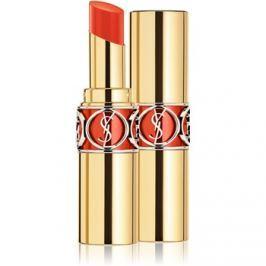 Yves Saint Laurent Rouge Volupté Shine Oil-In-Stick hidratáló rúzs árnyalat 58 Orange Touron 4 ml