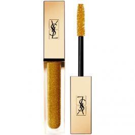 Yves Saint Laurent Vinyl Couture Mascara hosszabbító, göndörítő és dúsító szempillaspirál árnyalat 8 I'm The Fire - Gold Sparkle - Top Coat 6,7 ml