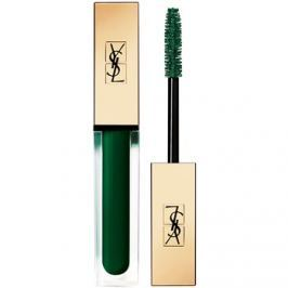 Yves Saint Laurent Vinyl Couture Mascara hosszabbító, göndörítő és dúsító szempillaspirál árnyalat 3 I'm The Excitement - Green 6,7 ml