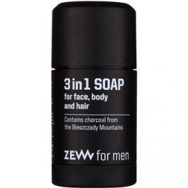 Zew For Men természetes puha szappan arcra, testre és hajra 3 az 1-ben  85 ml