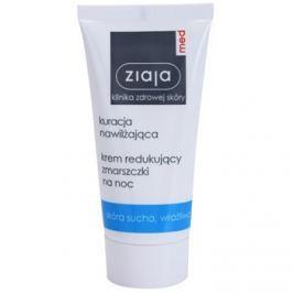 Ziaja Med Hydrating Care éjszakai ránctalanító krém az érzékeny száraz bőrre  50 ml