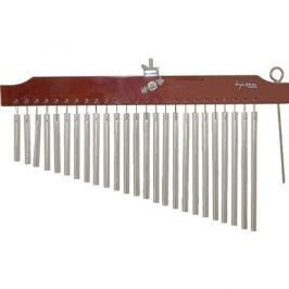 Tycoon 25 Chrome Chimes With Brown Finish Bar