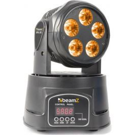 BeamZ Moving Head 5x18W RGBAW-UV LED DMX