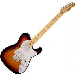 Fender Squier Vintage Modified 72 Tele Thinline 3 Color Sunburst