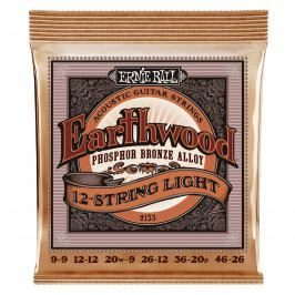 Ernie Ball 2153 Earthwood 12-String Light Phosphor Bronze Acoustic