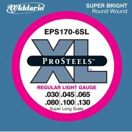D'Addario EPS 170-6 Pro Steels Regular Light