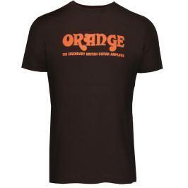 Orange Classic Brown T-Shirt Medium