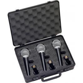 Samson R21 Dynamic Microphone 3-Pack