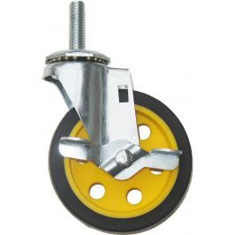 Rocknroller Caster with Brake 4'' x 1'' (for R2 and R6)