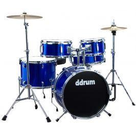 DDRUM D1 Junior Drum Set 5pc - Police Blue