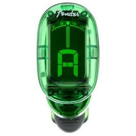 Fender California Series Clip-On Tuner Green