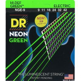 DR Strings DR Neon Green 9