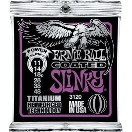 Ernie Ball 3120 Coated Electric Titanium RPS Power Slinky