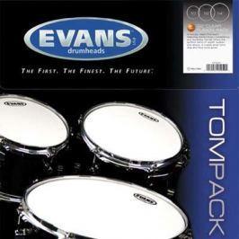 Evans G2 Clear Tom Pack-Rock (10'', 12'', 16'')
