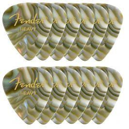 Fender Shape Premium Picks Abalone