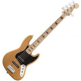 Fender Squier Vintage Modified Jazz Bass V 5 String Natural