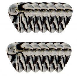 Fender 351 Shape Premium Picks Thin Zebra 12 Count