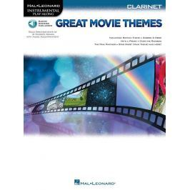 Hal Leonard Great Movie Themes: Instrumental P-A Clarinet Clarinet