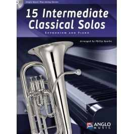 Hal Leonard 15 Intermediate Classical Solos Euphonium and Piano