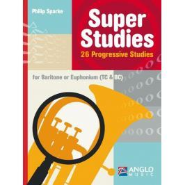 Hal Leonard Super Studies C/Bb Baritone/Euphonium BC/TC