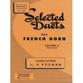 Hal Leonard Selected Duets French Horn Vol. 2