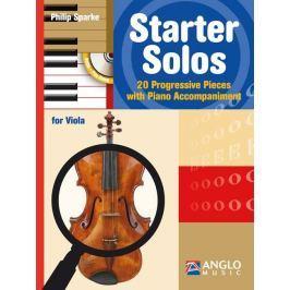 Hal Leonard Starter Solos Viola and Piano