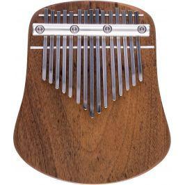Kalimba Musical Instrument LO15 Diatonic G-Dur Polished Walnut