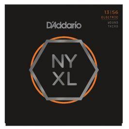 D'Addario NYXL1356W Nickel Wound Medium Wound 3rd 13-56
