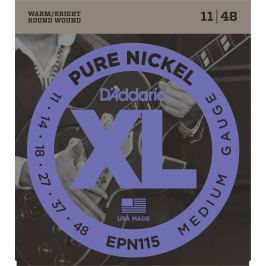 D'Addario Pure Nickel Blues/Jazz Rock 11-48