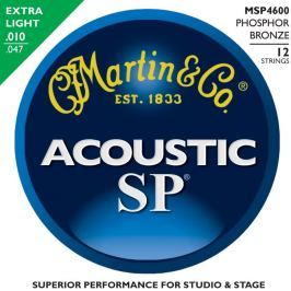 Martin MSP-4600 SP 92/8 Phosphor Bronze Extra Light 12-String