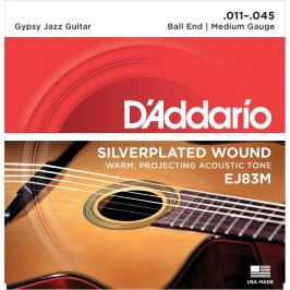 D'Addario EJ83M Gypsy Jazz Medium