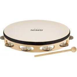 Nino NINO25 Headed Wood tambourine 10